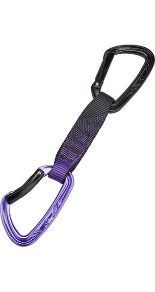 Black Diamond Nitro express set 12 cm violet/zwart